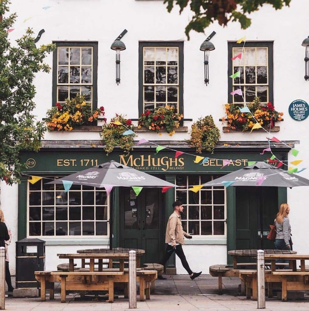 McHughs is a great stop in Belfast, one of our top old and authentic bars in Belfast.