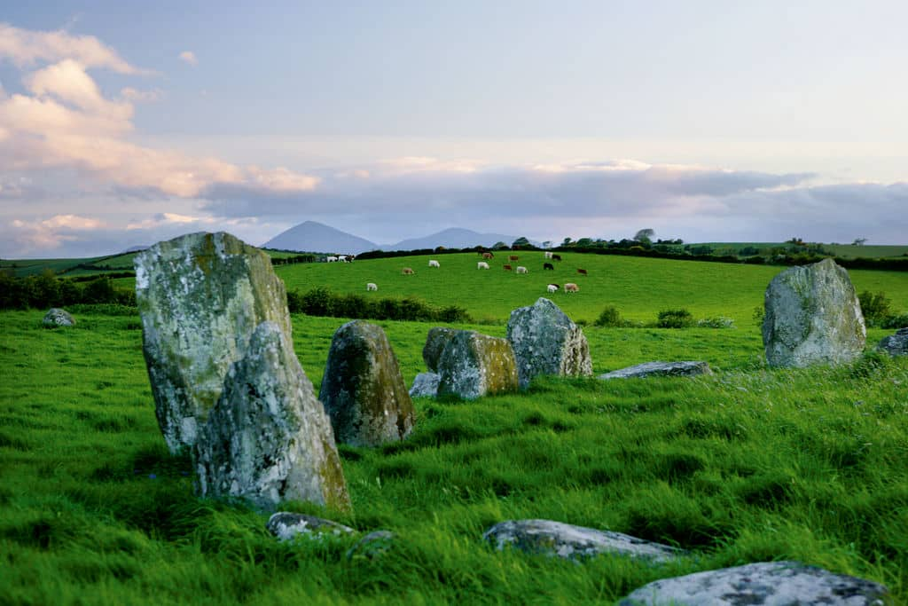 Ballynoe Stone Circle is one of the top 5 ancient stone circles in Ireland you need to visit
