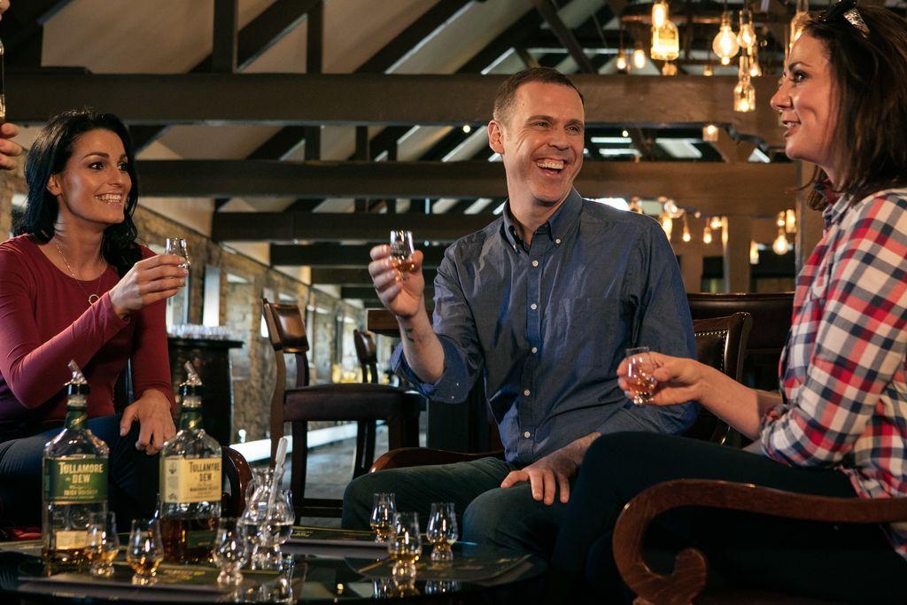 Taste some whiskey at Tullamore D.E.W. Visitor Centre