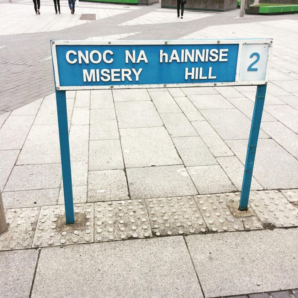 5 hilariously unfortunate place names in Ireland include Misery Hill