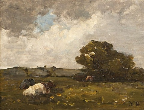 Nathaniel Hone the Younger was a great landscape painter from Ireland