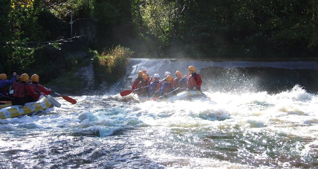 Get drenched and your heart beating his summer by rafting on the River Liffey in Dublin.