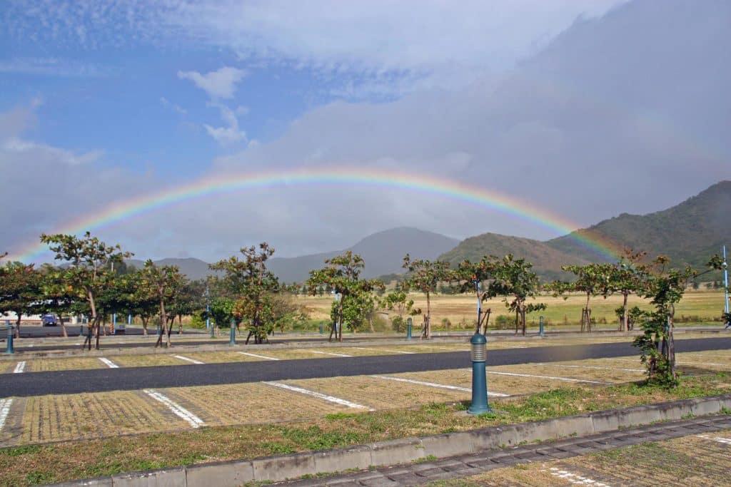 A rainbow in Taiwan