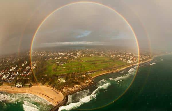 Amazing facts about rainbows include the fact that they are full circles