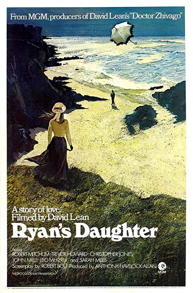 5 amazing movies that feature the Cliffs of Moher include Ryan's Daughter