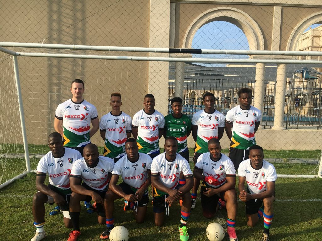 In South Africa you'll find one of the best GAA clubs outside Ireland, the South African Gaels.