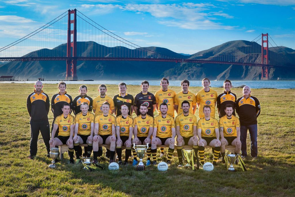 San Francisco's Ulster Gaelic Club is a great team outside Ireland, all the way in the city of the Golden Gate Bridge.