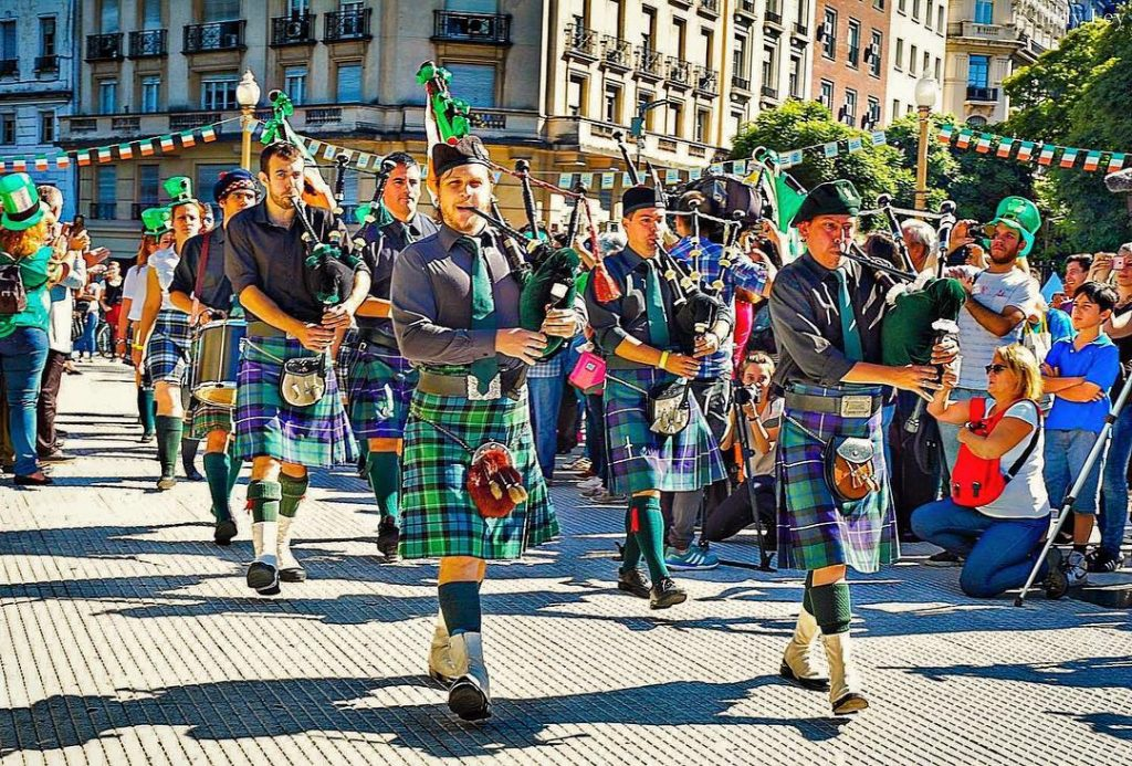 In Argentina, Buenos Aires hosts parades and parties, making it one of the top 10 places for St. Patrick's Day traditions around the world.
