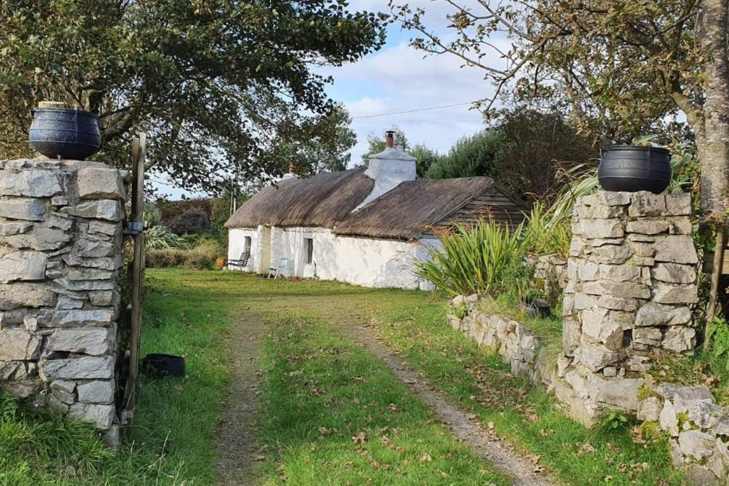 5 fairy-tale Airbnbs in Ireland include this thatched roof cottage in Donegal