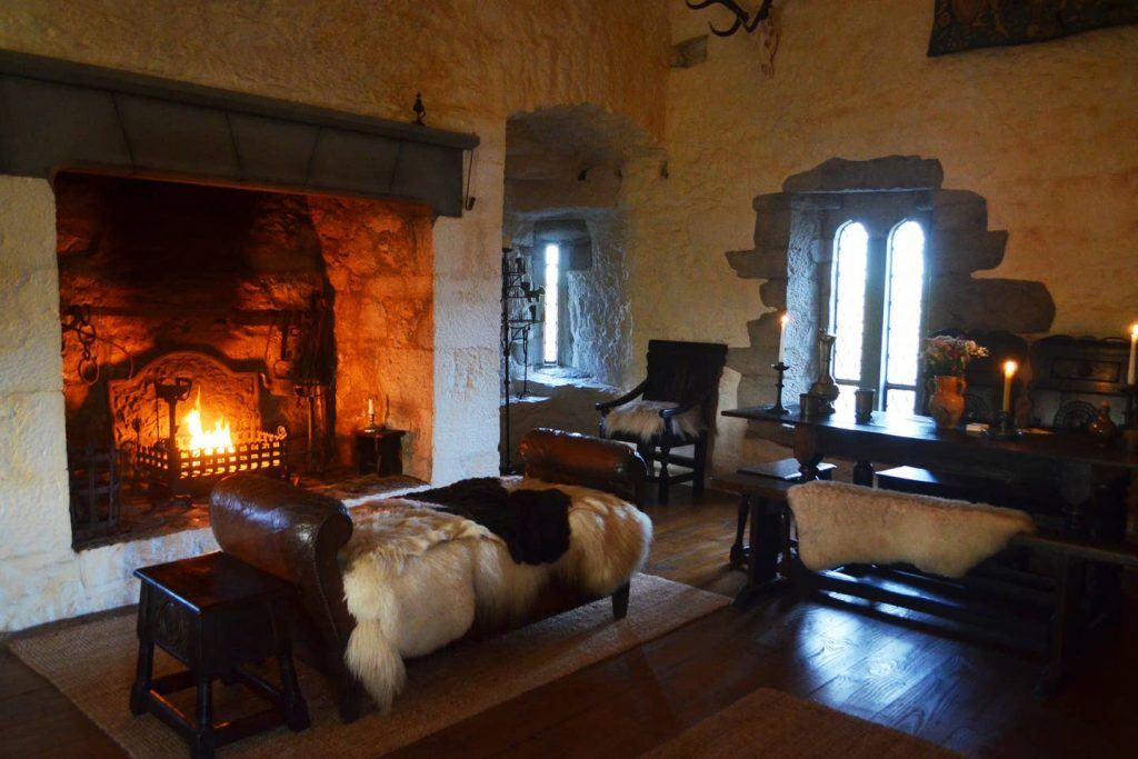 The Black Castle offers a medieval-style getaway
