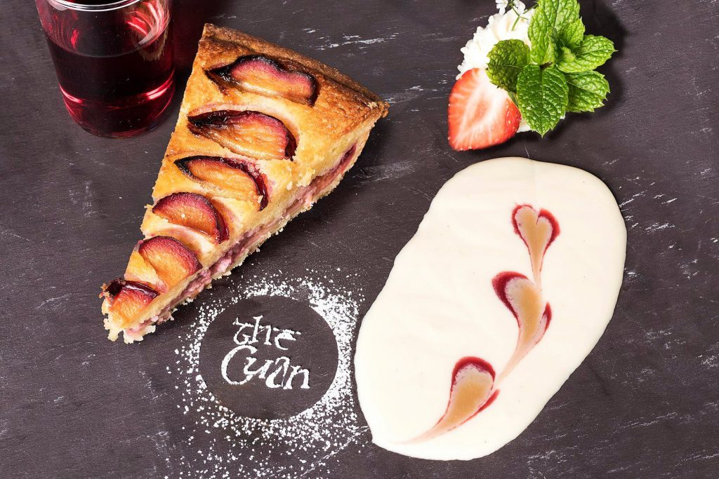 As for dessert, The Cuan in Strangford has a wide variety of delicious treats to choose from.