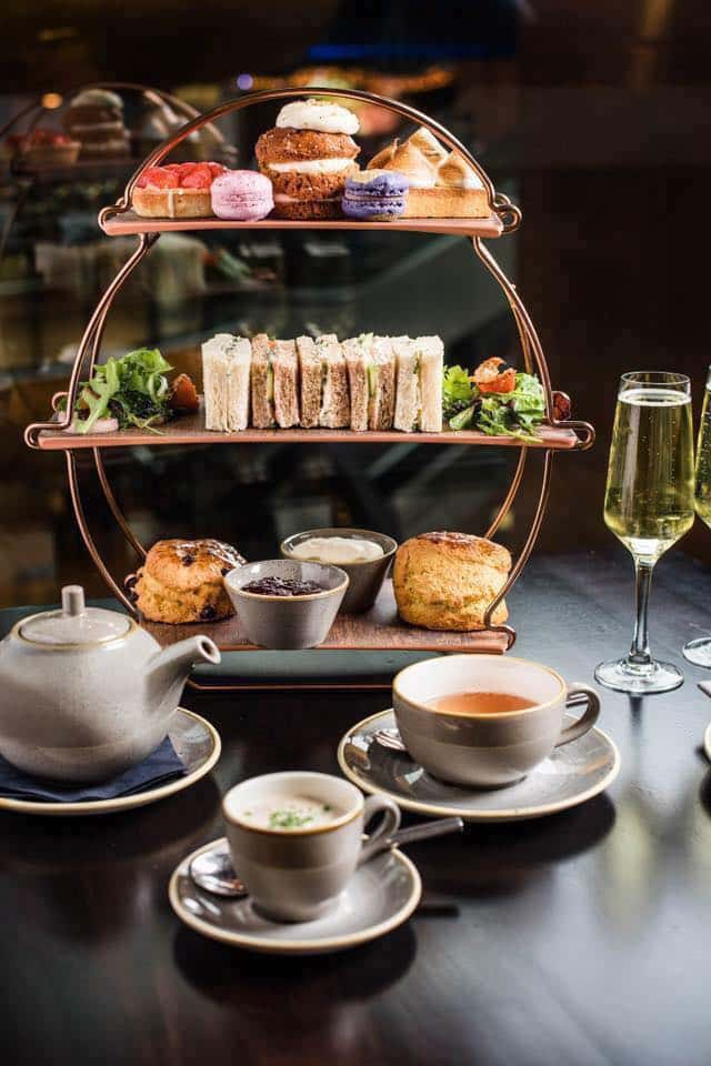 Top 10 places for afternoon tea in Belfast include the Ivory Champagne Cafe Bar