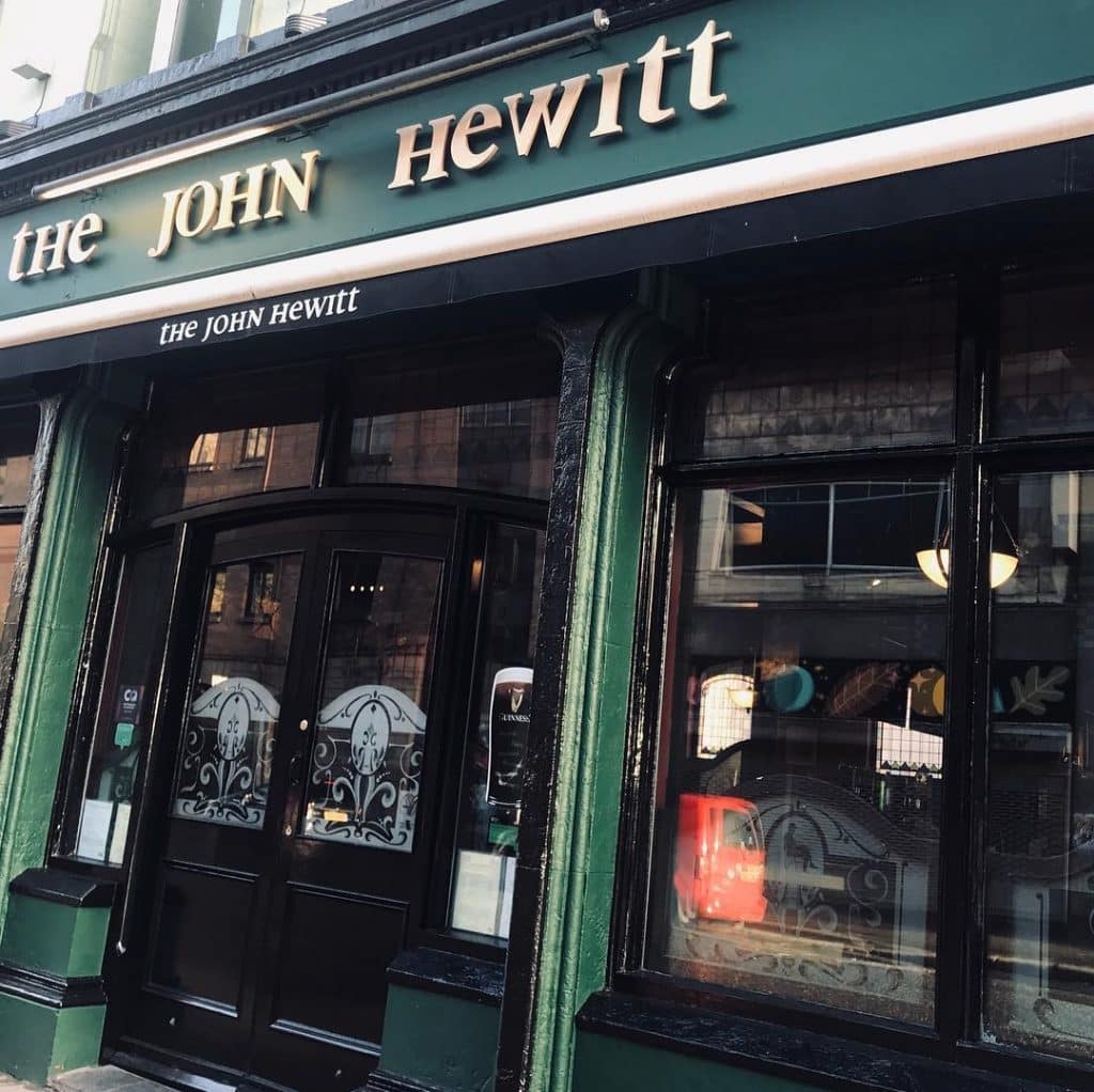 Named after a literary legend, The John Hewitt is another on of our top old and authentic bars in Belfast.