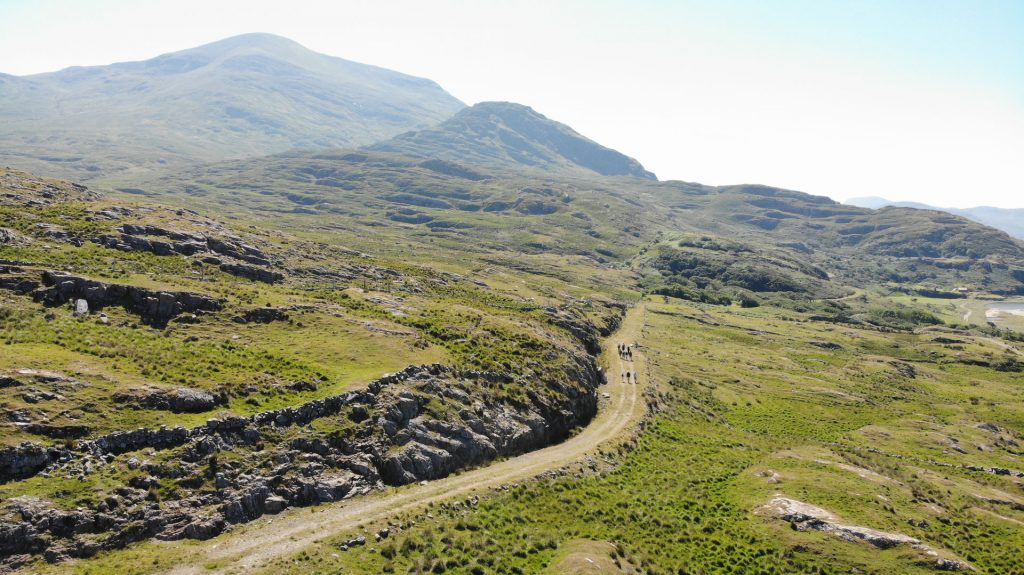 The Lost Valley in County mayo is one of the top places in Ireland the locals don't want you to know about that you should visit.