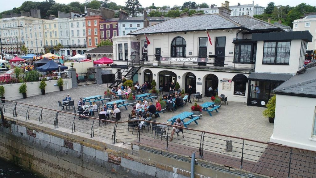 The 5 best pubs in Cobh include the Titanic Bar and Grill