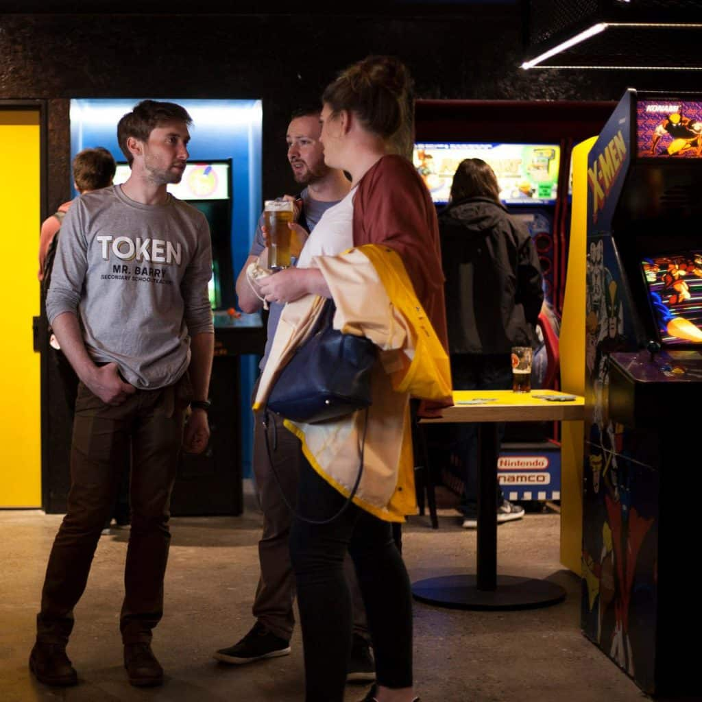 Video games and food sound like the perfect way to spend an evening, so check out Token in Dublin for both.