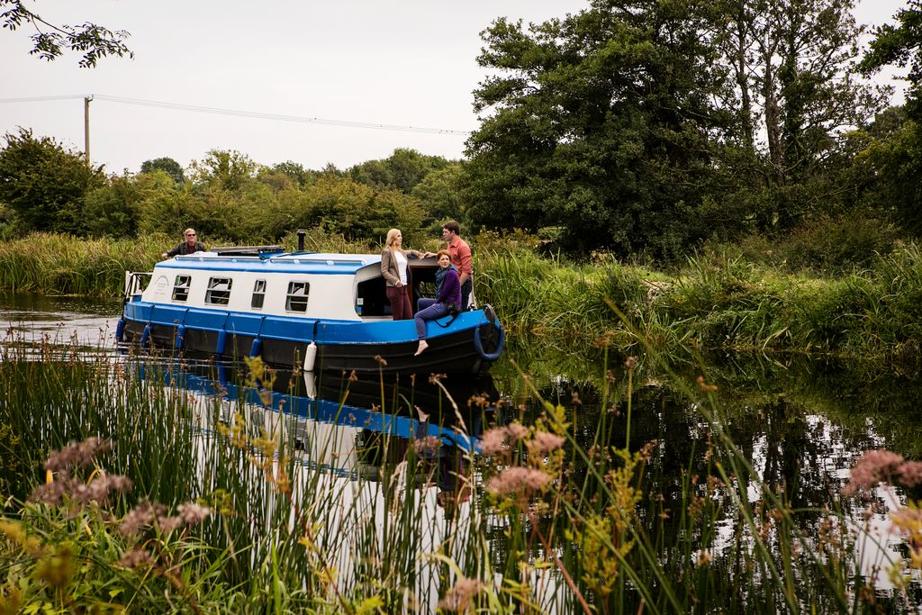 Taking a canal boat tour is another great way to see Dublin during summer, a unique way to explore the city and surrounding country.