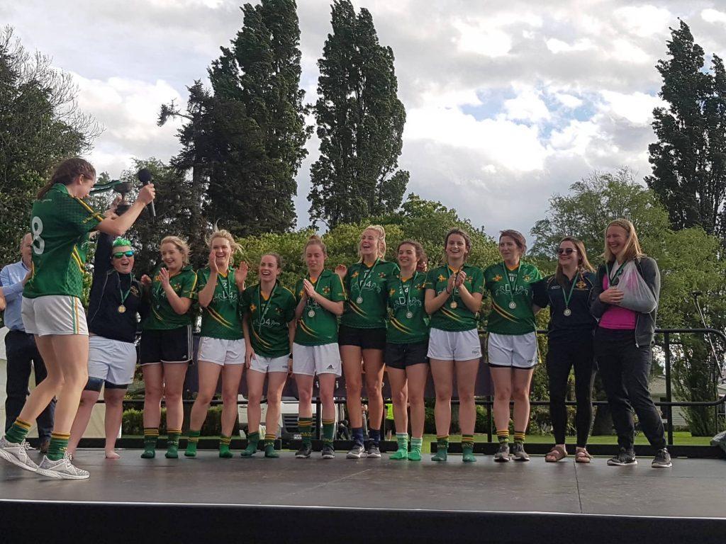 The Wellington GAA team is one of the best GAA clubs outside Ireland, located in New Zealand.