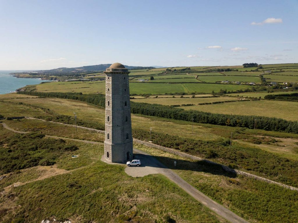 This Wicklow lighthouse is reminiscent of Rapunzel's tower