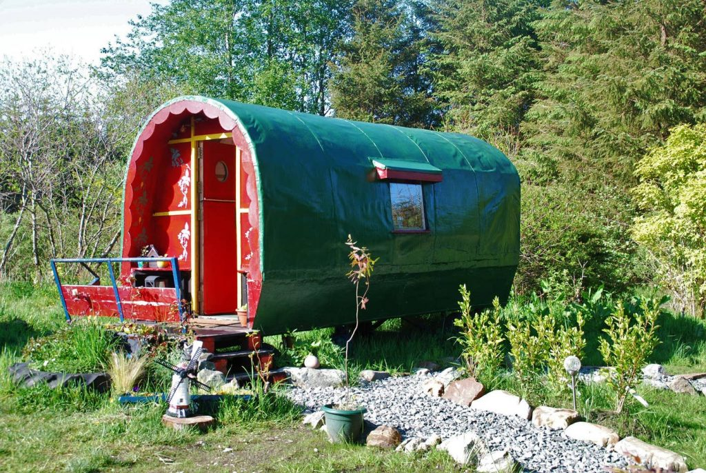 5 fairy-tale Airbnbs in Ireland include this wagon in Donegal