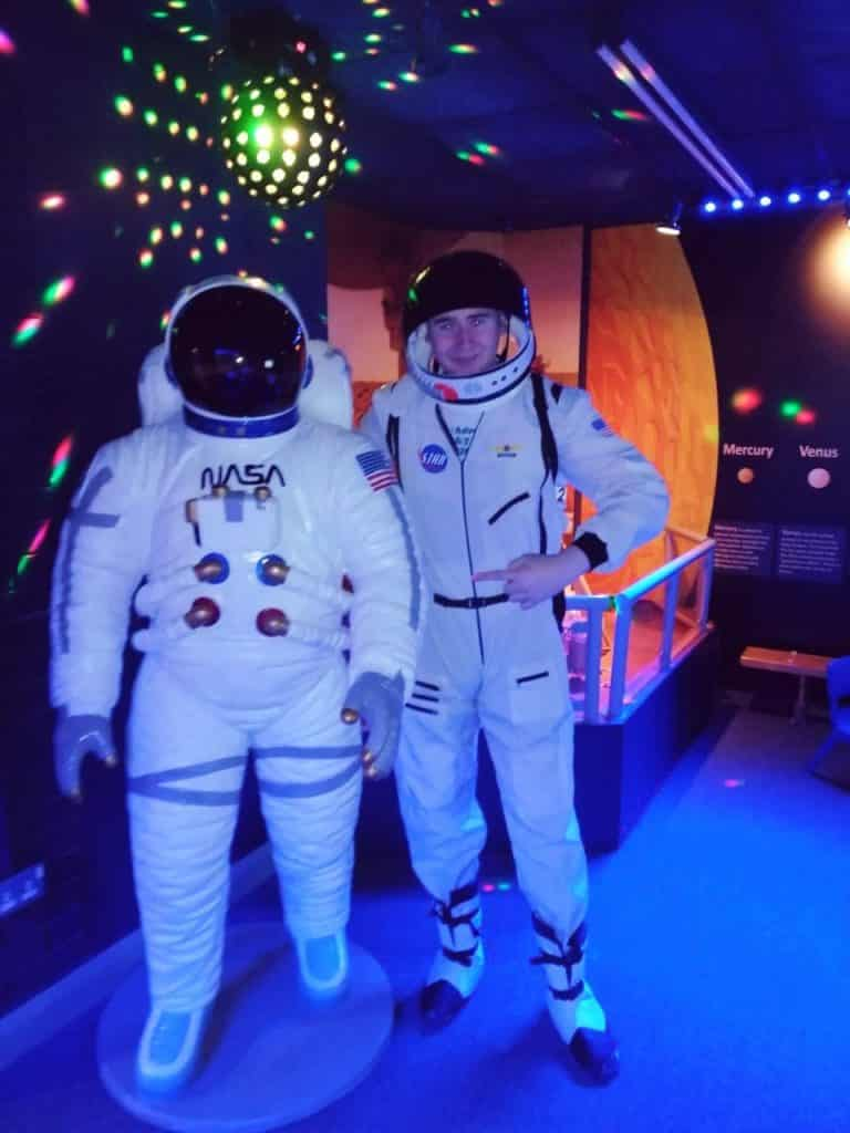 Thomas enjoyed his experience at the Armagh Planetarium