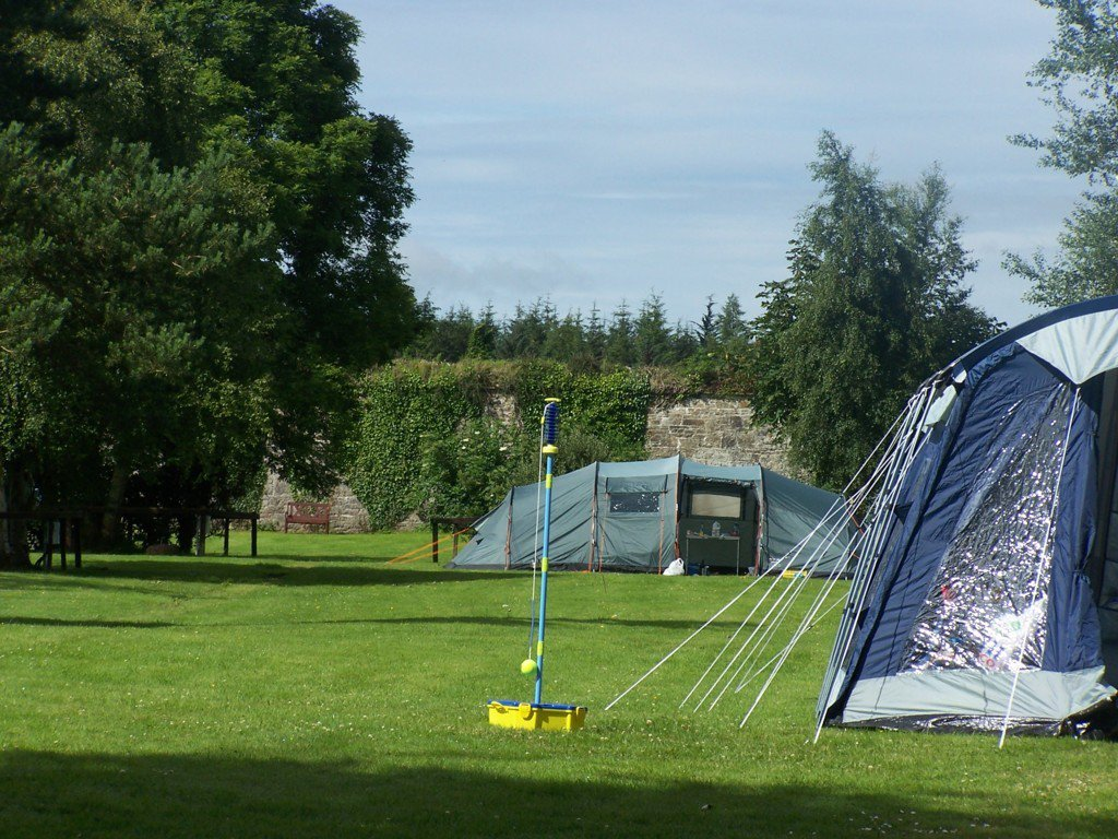 Another of our best campervan sites in Ireland is Balinnacourty House caravan Park, complete with a walled garden.
