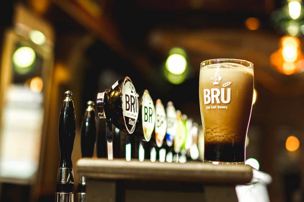 Brú Dubh Stout is another delicious beer to try if you're ever in Meath.