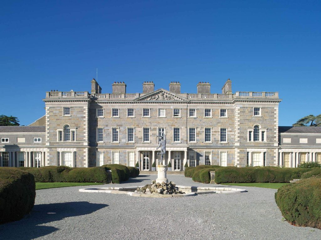 A scene at the end of the movie was filmed at Carton House Hotel