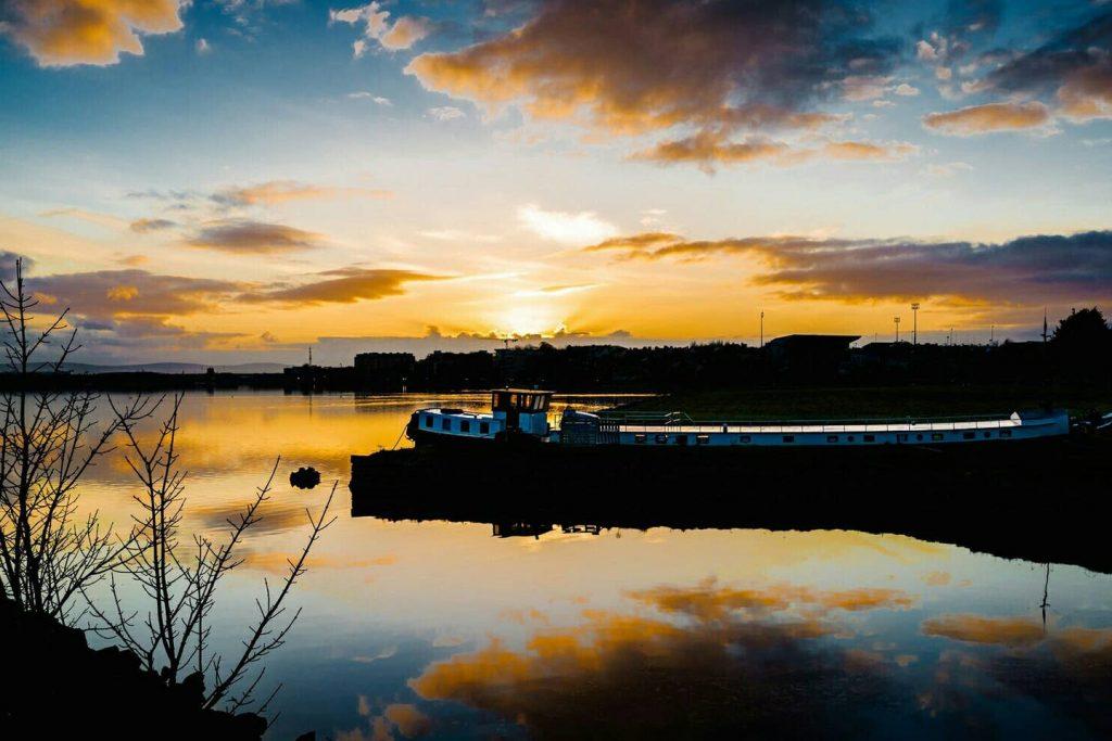 Catherina is a unique boat Airbb on Lough Atalia
