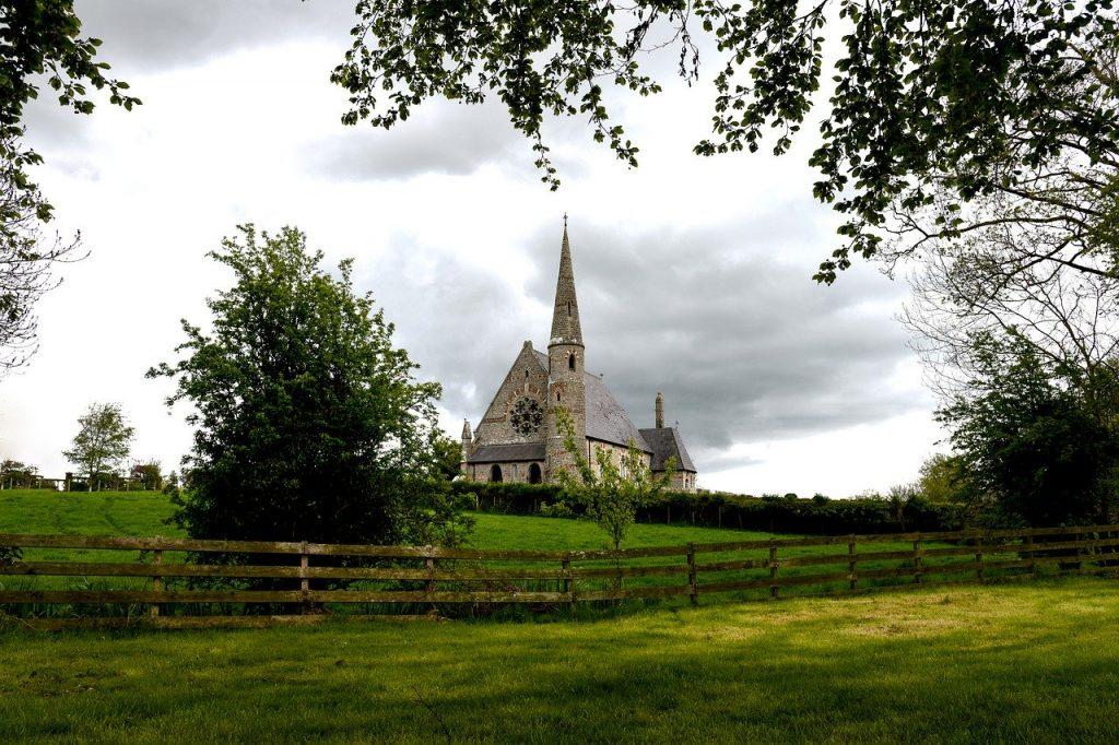 "The Irish name Cillian means ""little church"""