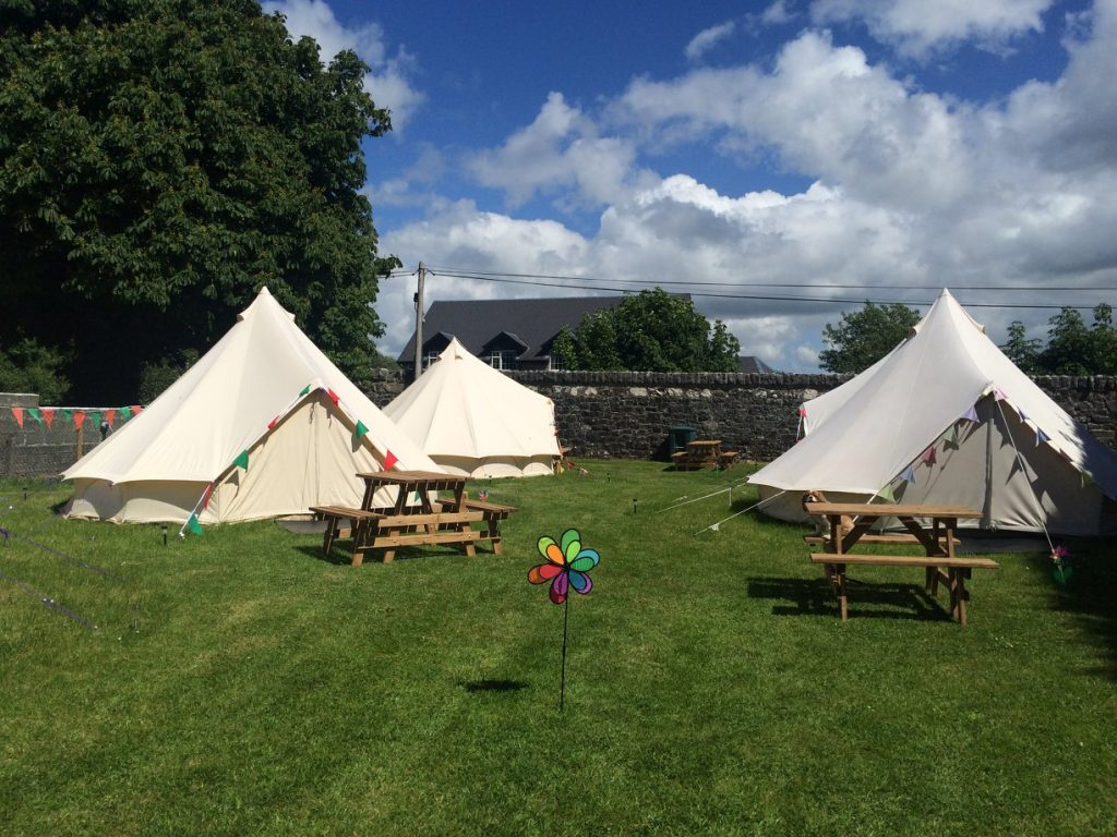 Cong Camping, Caravan and Glamping is one of our top campervan sites in Ireland to stay in.
