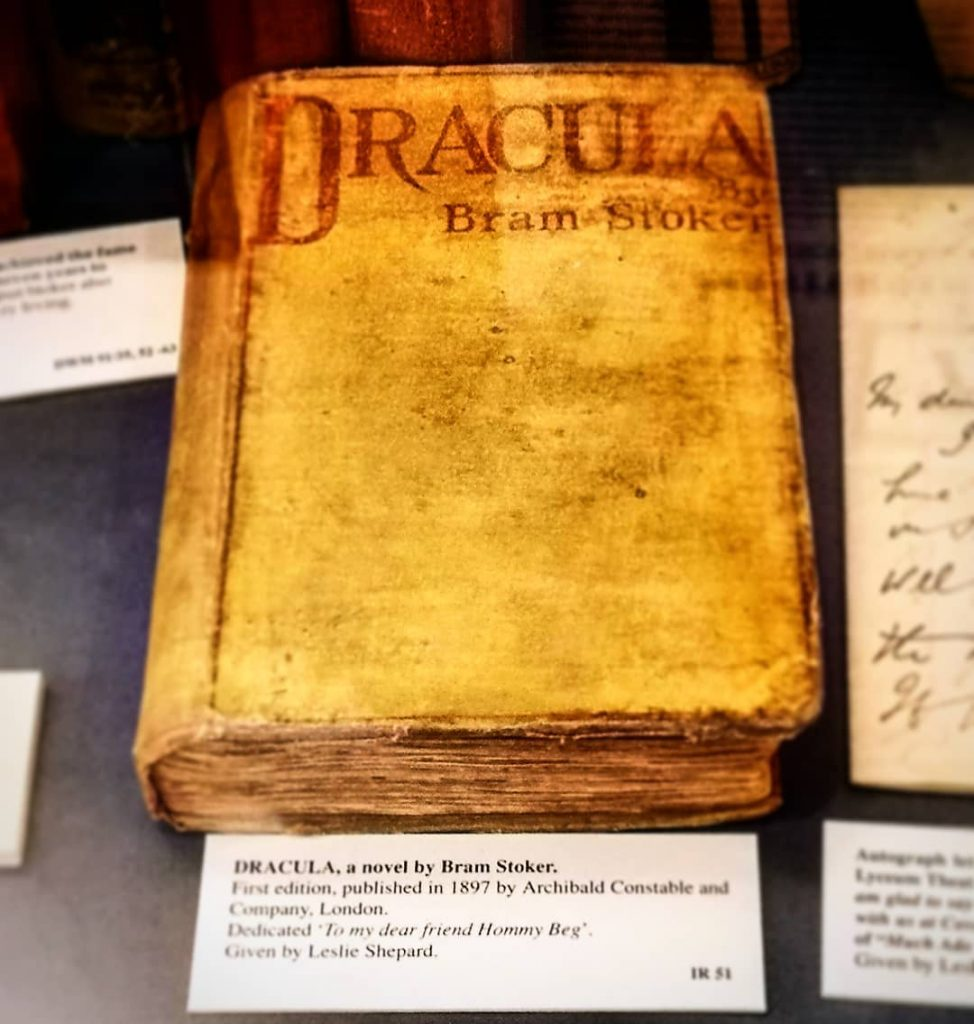 Dracula is one of the best Irish novels ever written.