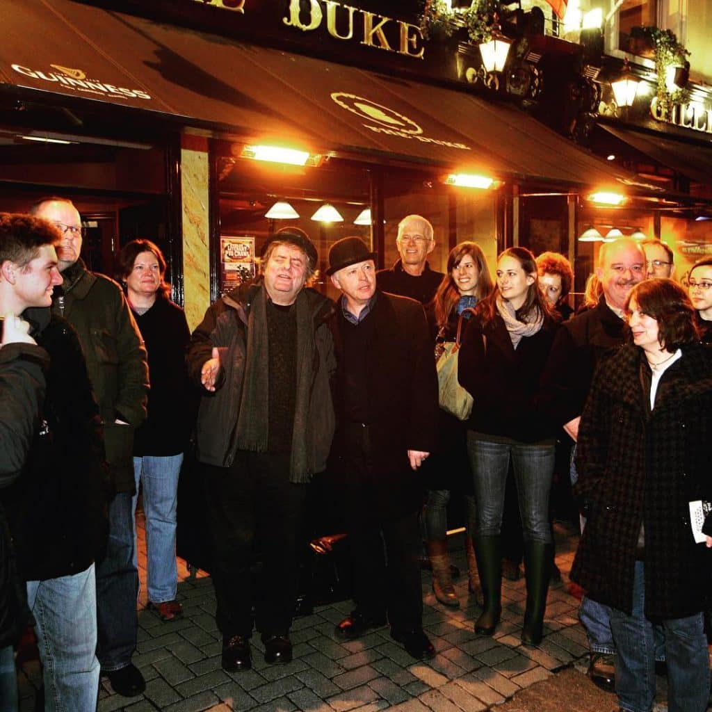 5 literary attractions in Dublin include