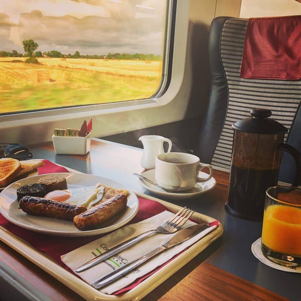 Fairy-tale train journeys through Ireland include the route from Dublin to Belfast