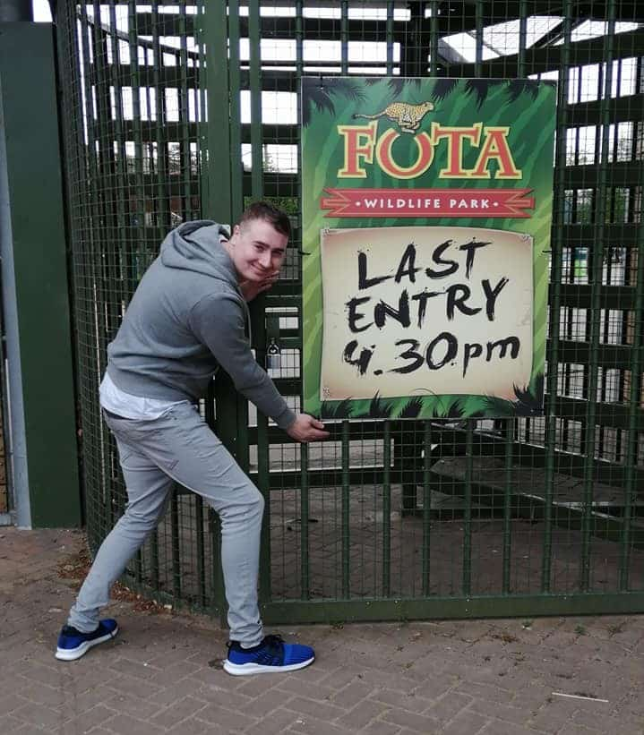 Thomas Smith is well travelled, and his favourite places in Ireland include the Fota Wildlife Park