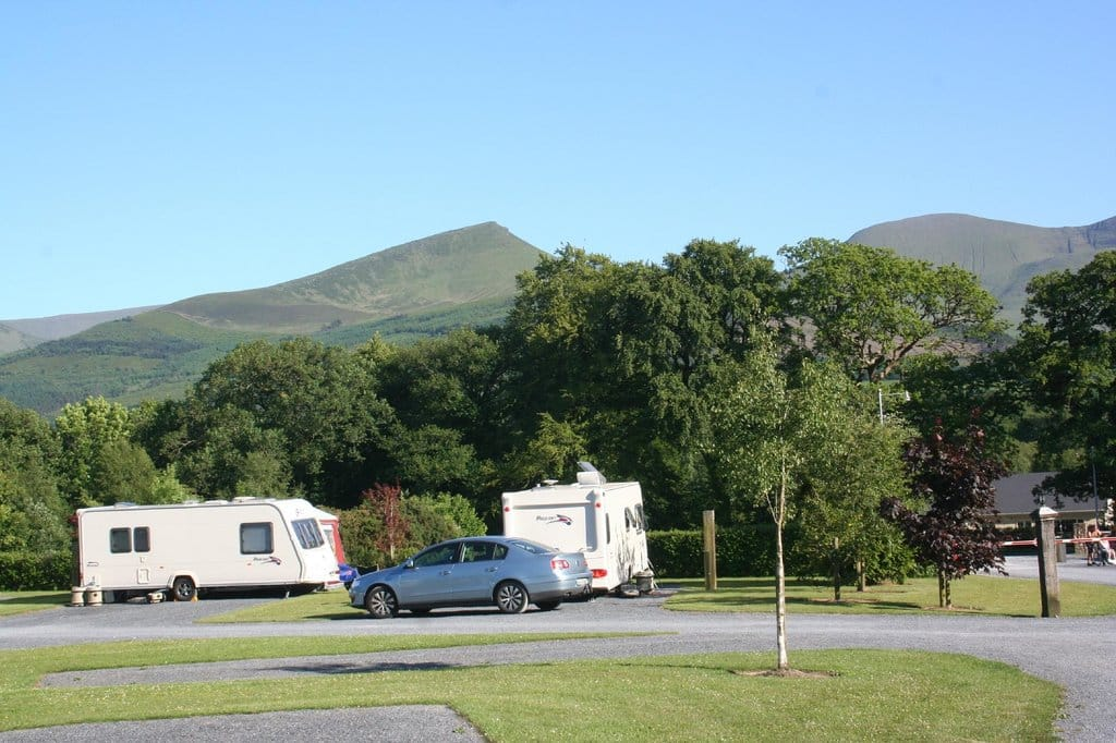 The Glen of Aherlow Caravan Park is a great place to stay, especially because it's set in a country environment.