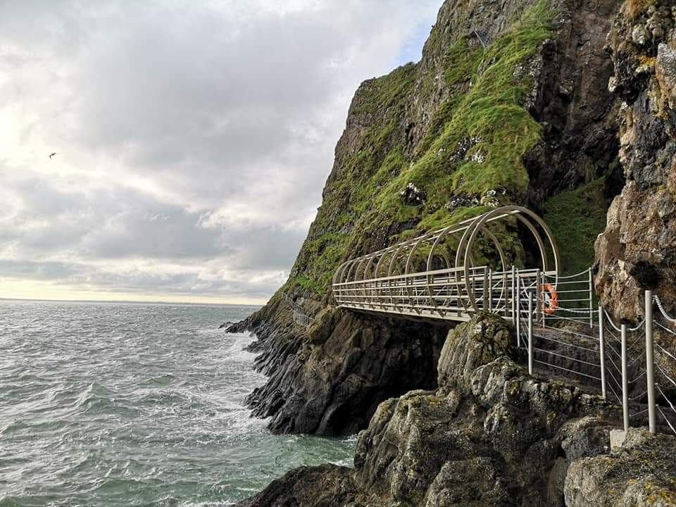 Thomas Smith is well travelled, and his favourite places in Ireland include the Gobbins
