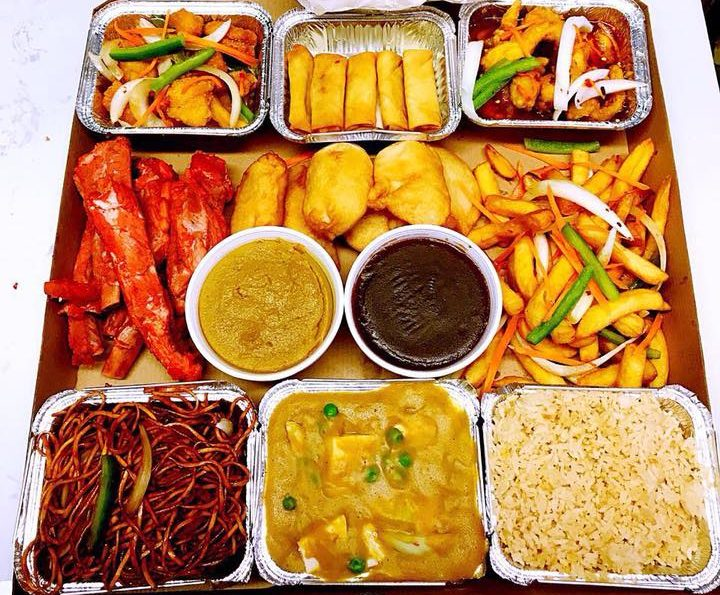 A Chinese takeaway is a great Friday night treat.