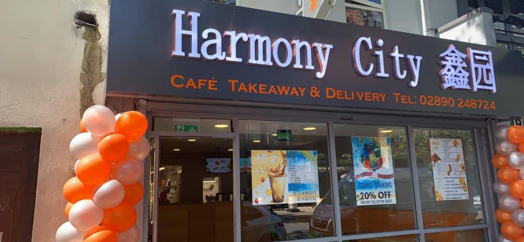 Taking over for New Emerald, Harmony City is a brand new take on this Chinese takeaway and steals the show on the Dublin Road.