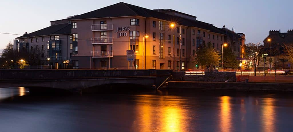 Jurys Inn has the largest beer garden in Galway, and is truly one of the best hotels in Galway City Centre.