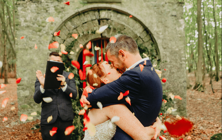 The Enchanted Forest at killyon Manor is truly one of the best places to elope in Ireland.