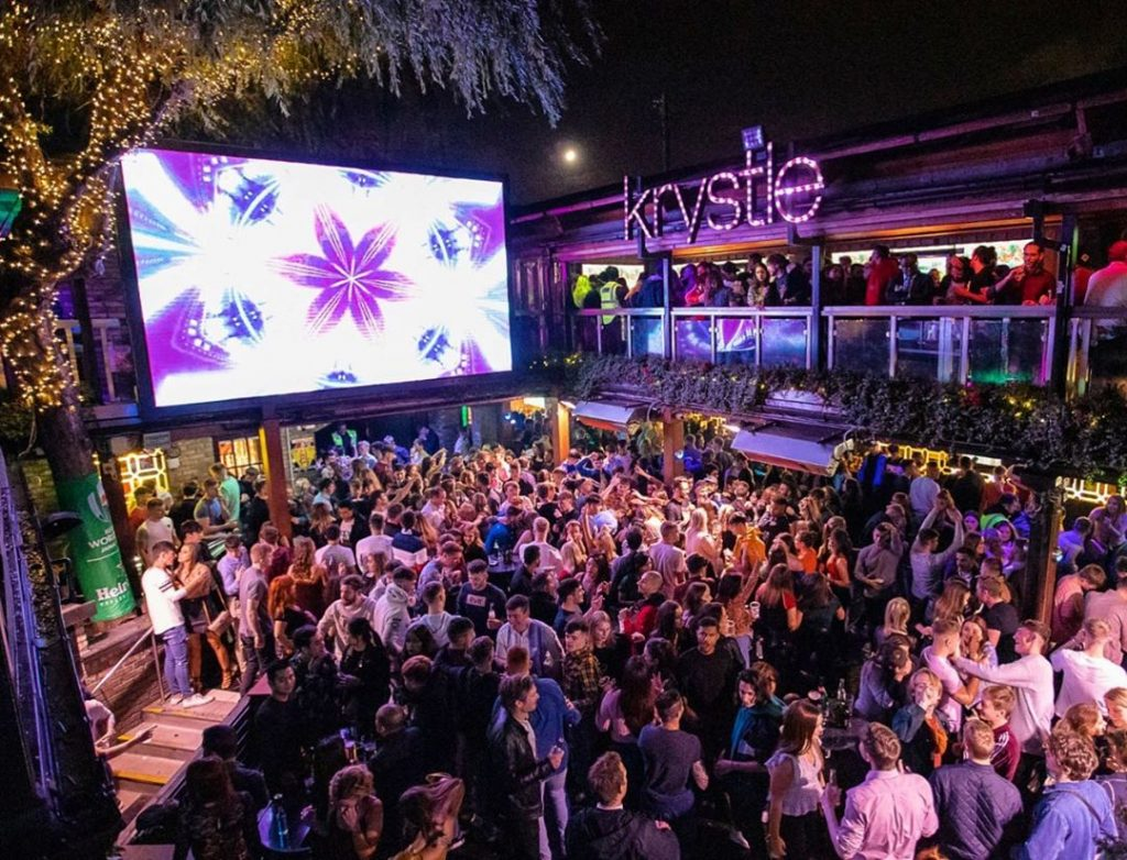 Krystle is the perfect place to mingle, let loose, and snog.
