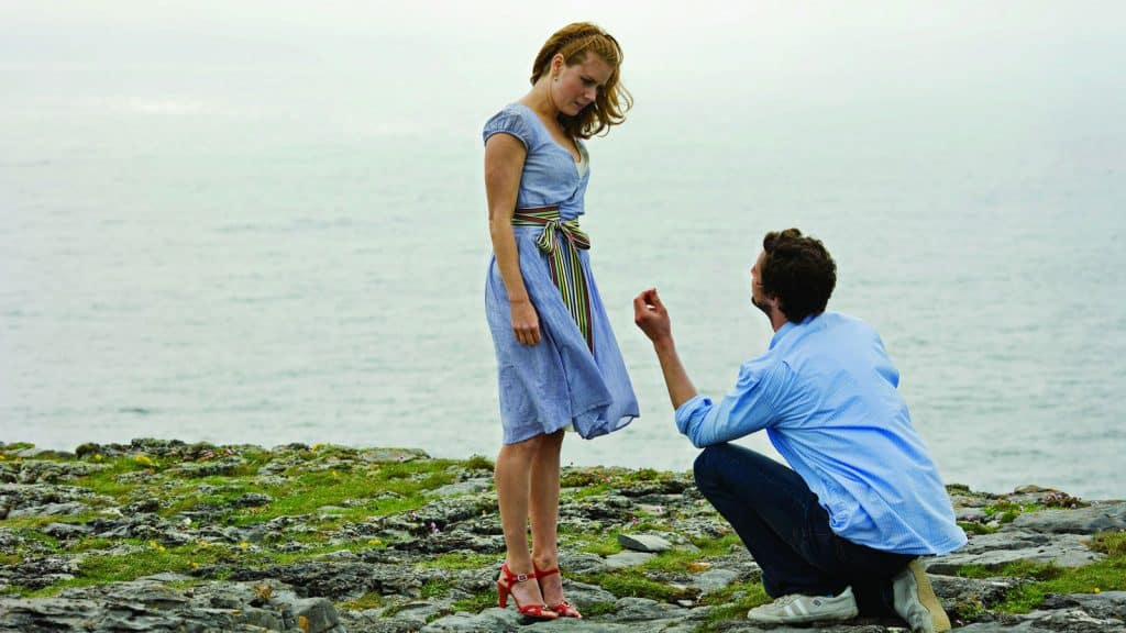 Leap Year filming locations in Ireland include Dun Aonghasa