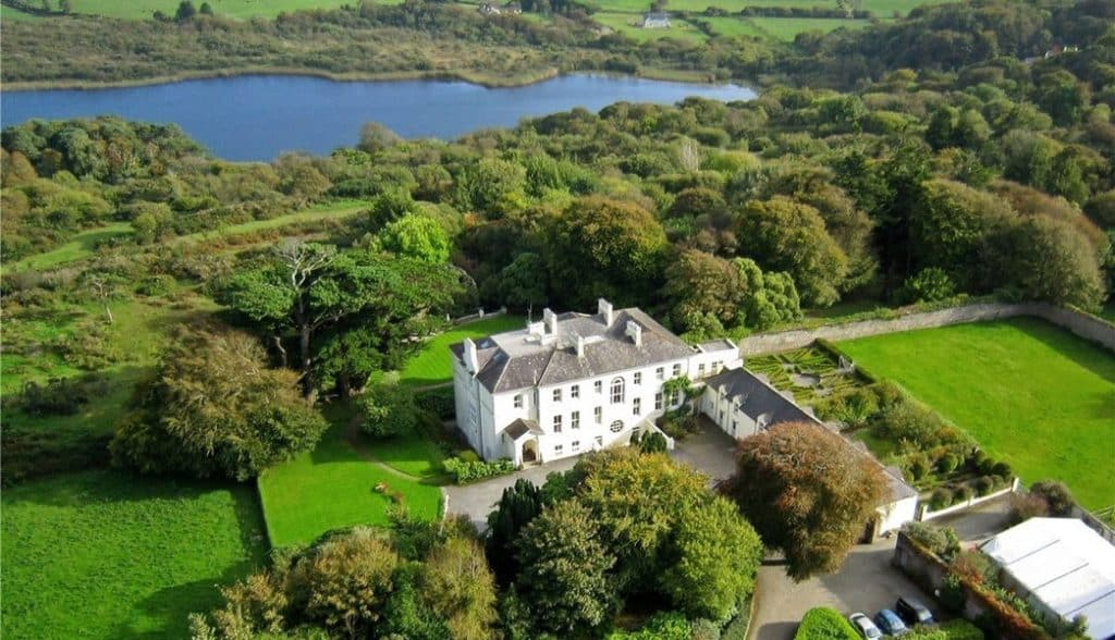 Another of the most amazing holiday homes for sale in Ireland is Liss Ard Estate, a Victorian holiday home.