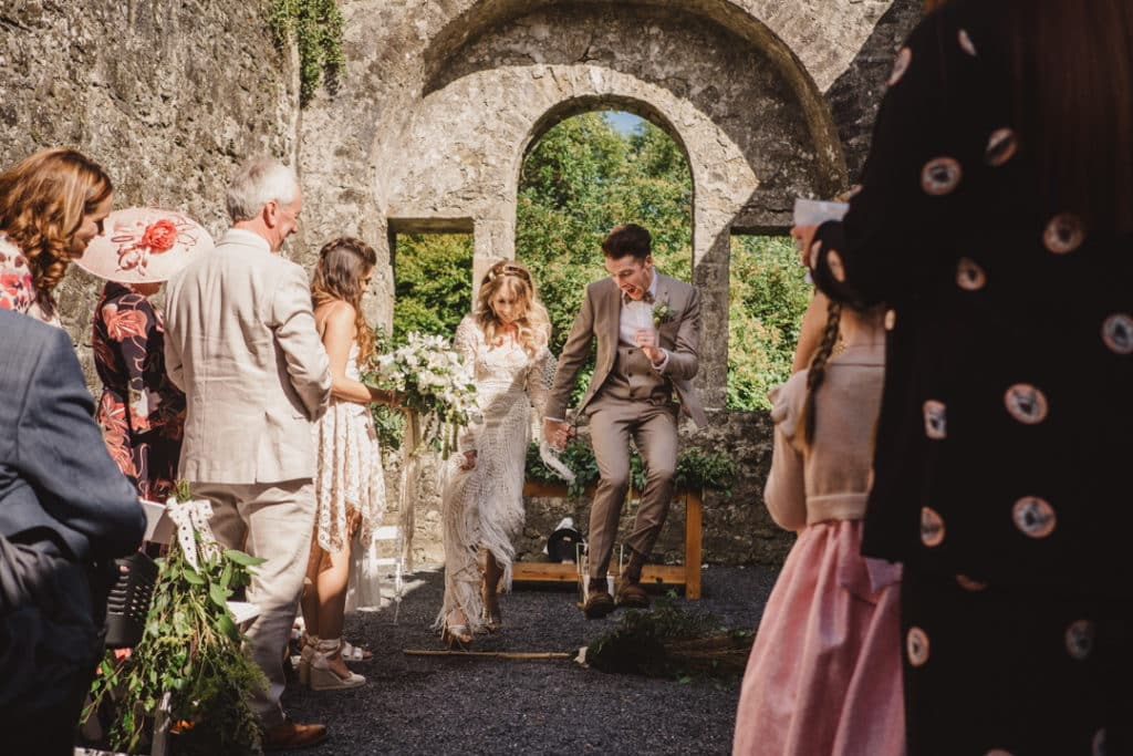 If you're looking to elope in County Meath then you have to check out Loughcrew Estate.