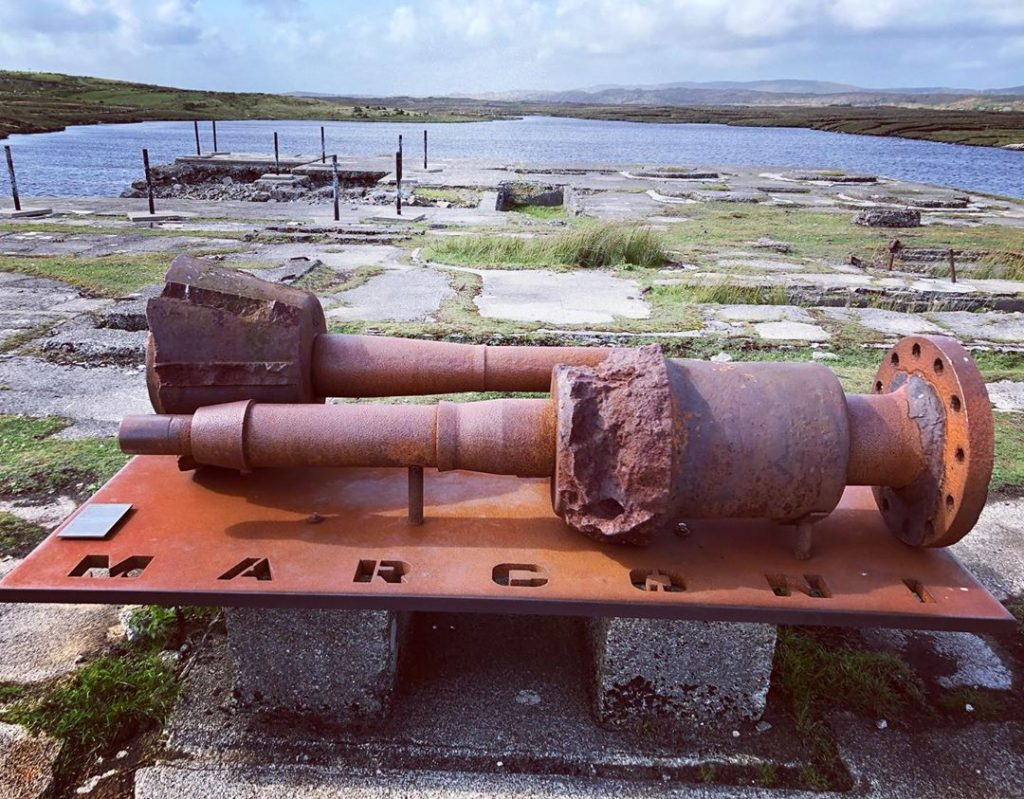 5 historic places to visit in Connemara include Marconi Station