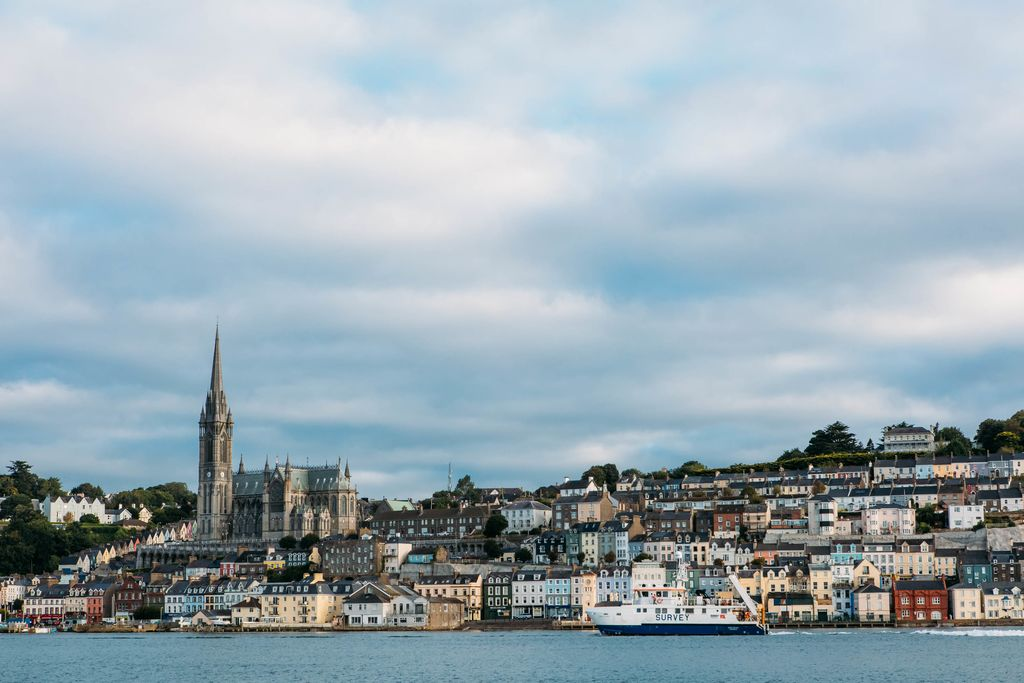 After visiting Spike Island, make sure to spend a day in the picturesque town of Cobh.