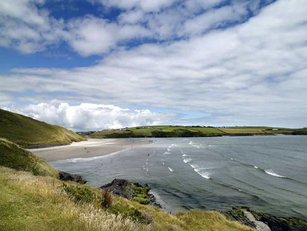 Why not learn surfing at Inchydoney beach, a truly great beach.