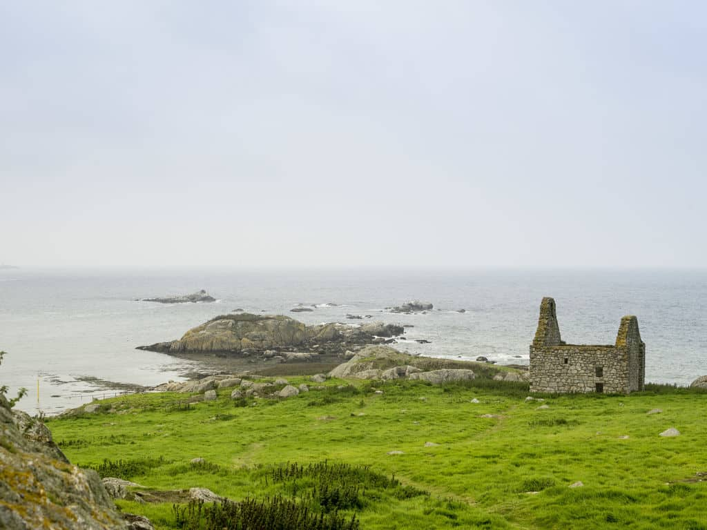 Dalkey Island is another peaceful escape, one of the best things to see in Ireland.