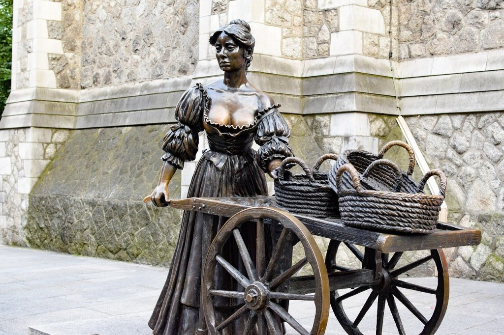 She is the subject of a famous statue in Dublin, but who was Molly Malone really?